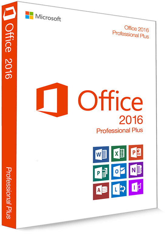 Microsoft Office 2016 Professional Plus 32/64 Bit - Clave de producto (Key)